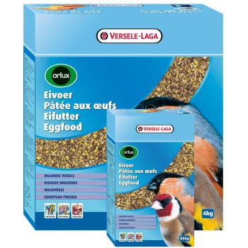 Pâtée aux œufs pour oiseaux...