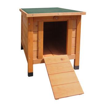 Cabane en bois pour lapin...
