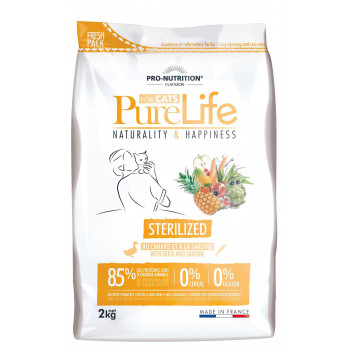 PureLife chat sterilized 2kg