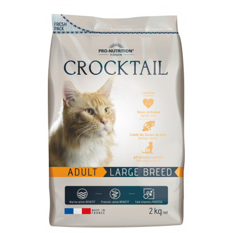 Crocktail large breed 2kg