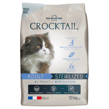 Crocktail adulte sterilized...