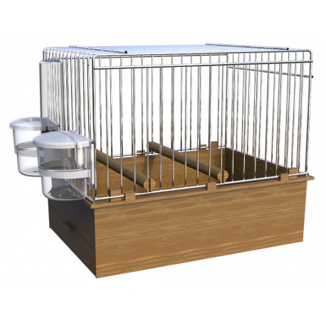 Cage for singing birds