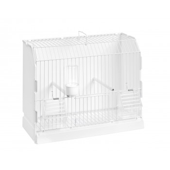 White removable training cage