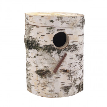 Nest in Birch for parakeets