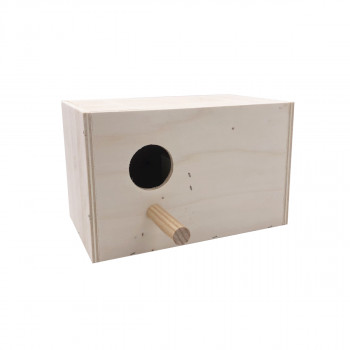 Horizontal nest box for...