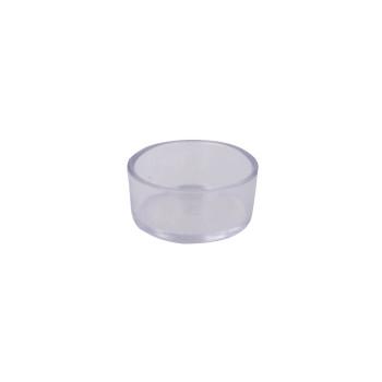 Mangeoire ronde transparante