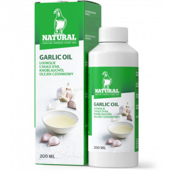 Garlic oil natural 200ml