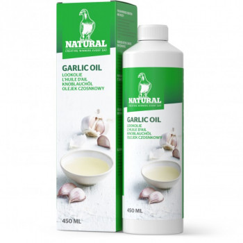 Huile d'ail natural 450ml