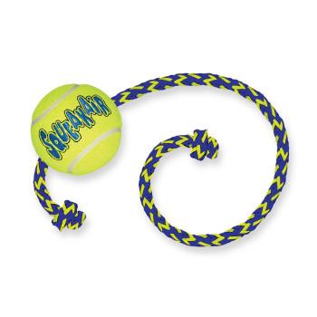 Balle de tennis + corde