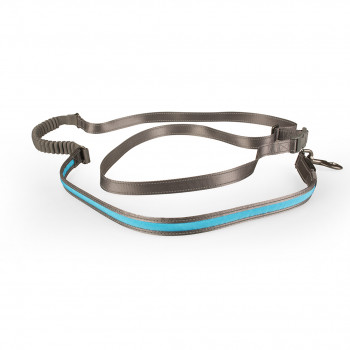 Leash jogging Blue Nylon...