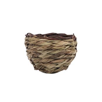 Preformed nest in thatch 12 cm