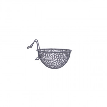 """Nest in metal """"mesh"""" with..."""
