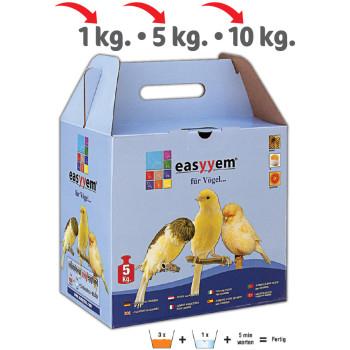 Pâtée jaune sèche aux œufs 5Kg
