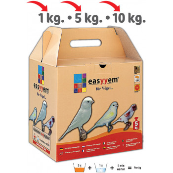 Eggfood for birds with...