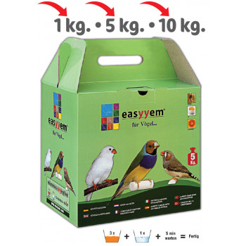 Eggfood for exotic birds 5KG