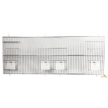 Devanture Chromée 80 x 30 cm