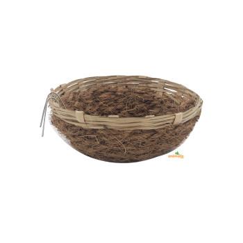 Nest in rattan + coco 17cm