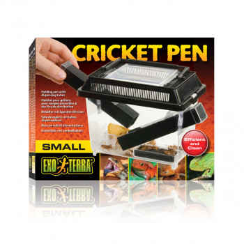 Cricket box with 2 tubes -...