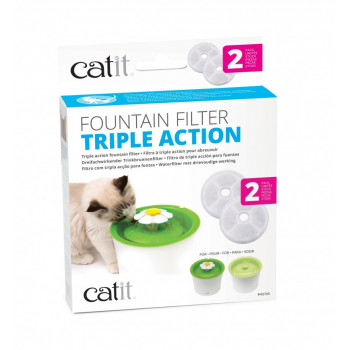 Filtres triple action -...