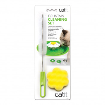 Cleaning brush and sponge