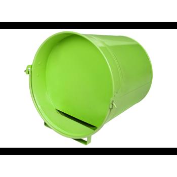 Seau couché vert 12L