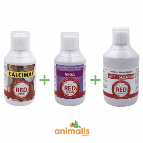 Vega 250 ml + Calcimax 250 ml +Vit E 500 ml