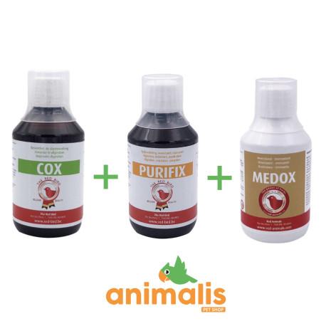 Cox 250 ml + Purifix 250ml + Medox 250ml