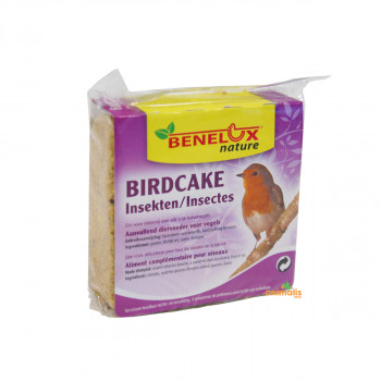 Birdcake to insects for...