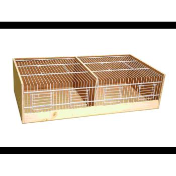Wooden transport cage 80 cm