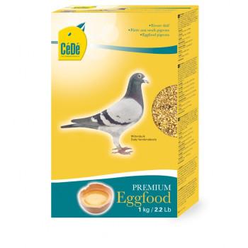 Pâtée aux œufs pour pigeons...
