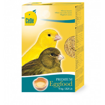 Eggfood dry yellow Canary 1kg