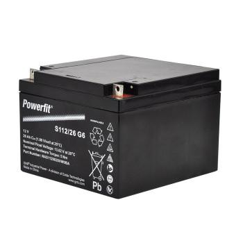 Batterie 12V/25Ah SLA -...
