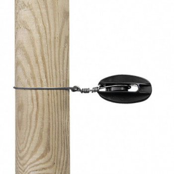 Isolateur de coin noir  (100)