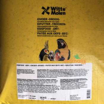 Pâtée sèche Witte Molen 20kg