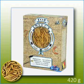 Frozen mealworms 420g - Top...