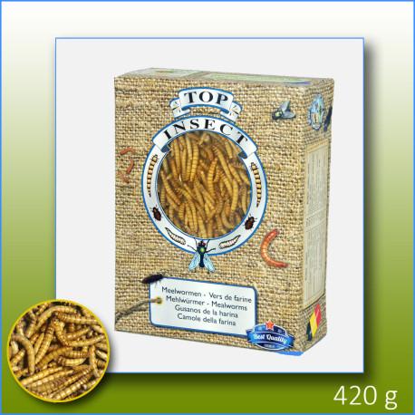 Vers de farine congelés 420g - Top Insect