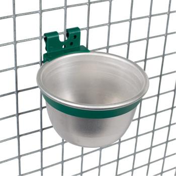 Bol en aluminium, rond ø 10 cm