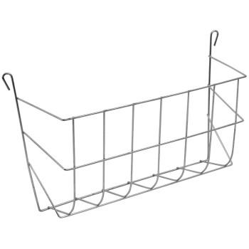 Galvanized hay rack - 30cm