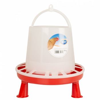 Chicken feeder with feet - 8kg