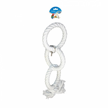 Parakeets toy with 3 white...
