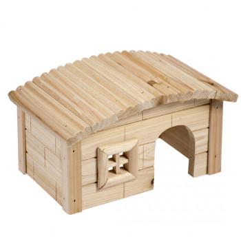 Maison en bois pour hamster