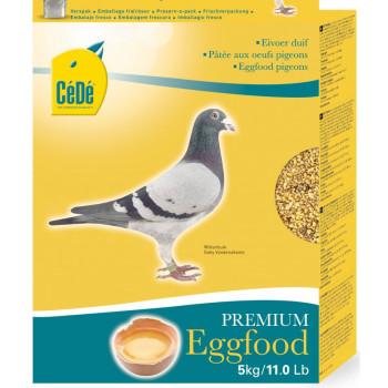 Pâtée aux œufs pour pigeon...