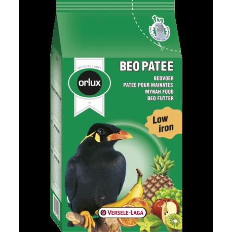 Beo Patee 1kg - Aliment Complet Pour Les Grands Frugivores