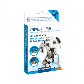 Flea and tick pipes for...