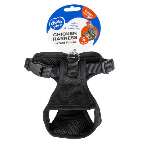 Harnais pour poules - Taille M - 30x19x37-47 cm