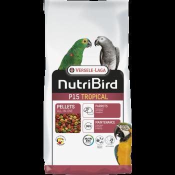 Nutribird P15 tropical 10kg...