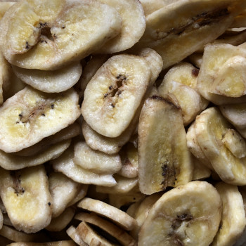 Banana chips with honey 1kg